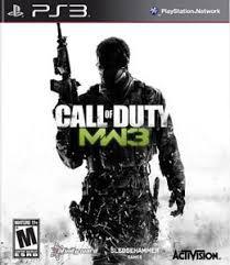 Call Of Duty MW3 jogo para PS3