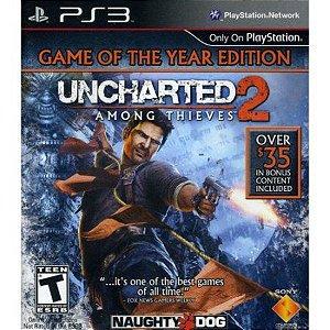 Uncharted 2 jogo para PS3