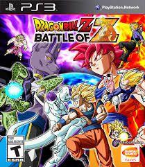 Dragonball Z Battleof jogo para PS3