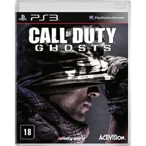 Call OF Duty Ghosts jogo para PS3
