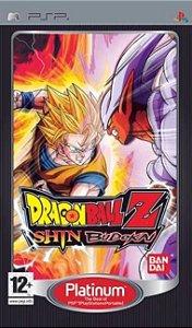 Dragon Ball Z Budokai Shin jogo para PSP