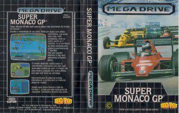 Super Monaco GP jogo para Mega Drive