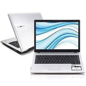 Notebook Usado Positivo Sim 1455 Intel Core 2 Duo 80gb 2gb Win7 14'