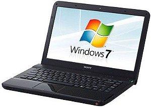 Notebook Sony Vaio VPCEA20FB Intel 1.87ghz, HD 320gb, 4gb