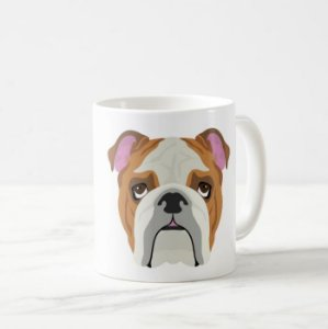 Caneca Pet de Bulldog - Terapia