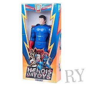 Boneco Herói Da Toys - Magnum Super Toys - Vermelho