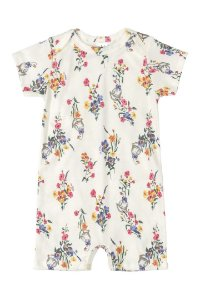 Macaquinho Romper - Floral  - Up Baby