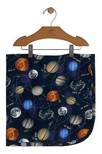 Manta em Suedine - Sistema Solar - Up Baby