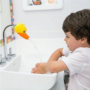 Extensor de Jato D'água para Torneira - Pato - COMTAC KIDS
