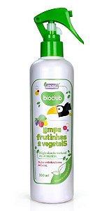 Limpeza de Frutas e Vegetais Orgânico - Bioclub