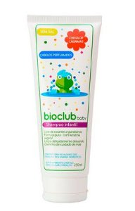Shampoo Infantil com Keratina Vegetal Sem Sal - Bioclub
