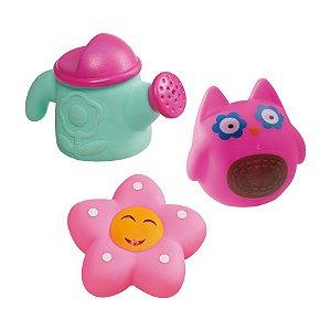 Brinquedos para Banho Jardim Floridos - Girotondo Baby