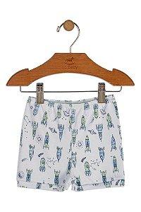 Shorts em Suedine - Foguete - Up Baby