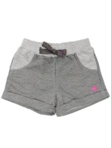 Shorts Moleton Menina - Cinza Escuro - Up Baby