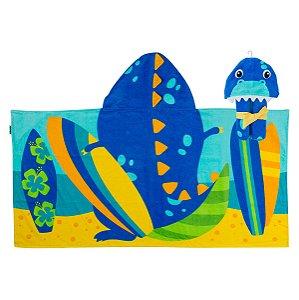 Toalha de Banho com Capuz - Dinossauro - Stephen Joseph