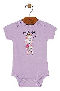 Body Manga Curta - Menina - Bonecas - Up Baby