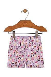 Shorts em Suedine - Boneca - Up Baby
