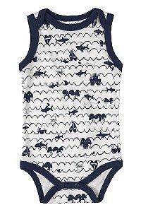 Body Regata - Tubarão - Up Baby