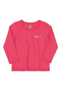 Camiseta Manga Longa Piscina - Pink - Up Baby