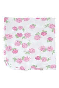 Manta em Suedine - Floral Rosa - Up Baby