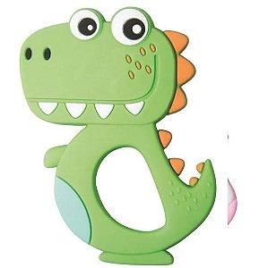 Mordedor de Silicone Dinossauro - Girotondo Baby