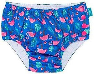 Fraldinha de Banho Calcinha - Flamingo - Buba