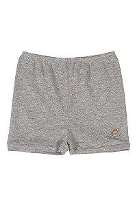 Shorts em Seudine - Cinza - Up Baby