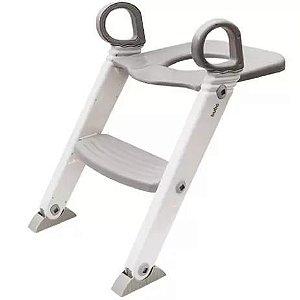 Assento Redutor com Escada Penico Cinza - Buba