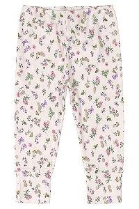 Calça em suedine - Floral - UP BABY