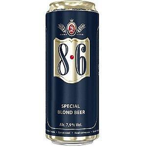 Cerveja 8.6 Special Blond Beer Lata 500ml