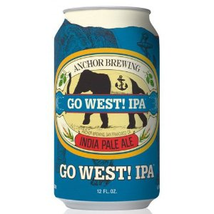 Cerveja Anchor Go West IPA Lata 355ml