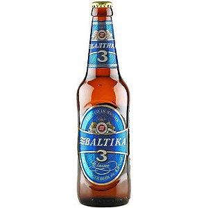 Cerveja Baltika 3 Classic Lager  450ml