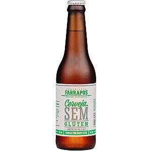 Cerveja Farrapos APA Sem Glúten 330ml