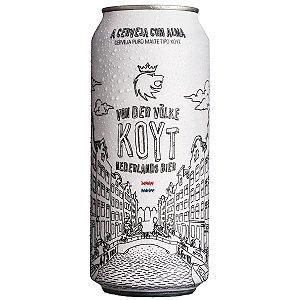 Cerveja Schornstein Von Der Völke Koyt Nederlands Bier Lata 473ml