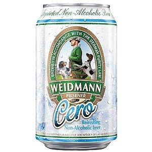 Cerveja Weidmann Pilsener Cero Sem Álcool Lata 330ml