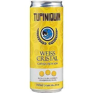 Cerveja Tupiniquim Weiss Cristal Lata 350ml
