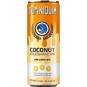 Cerveja Tupiniquim Coconut Milkshake IPA Lata 350ml