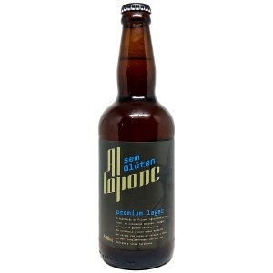 Cerveja Al Capone Premium Lager Sem Glúten 500ml