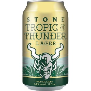 Cerveja Stone Tropic of Thunder Lager Lata 355ml