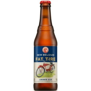 Cerveja New Belgium Fat Tire Amber Ale 330ml