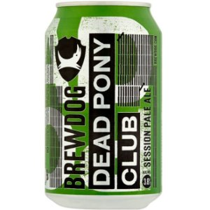 Cerveja BrewDog Dead Pony Club Session India Pale Ale Lata 330ml