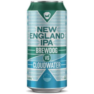 Cerveja BrewDog New England  IPA Lata 440ml