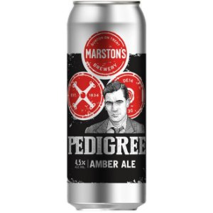 Cerveja Marstons Pedigree Amber Ale Lata 500ml