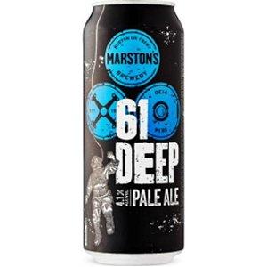 Cerveja Marstons Tons 61 Deep Pale Ale Lata 500ml