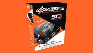 azamerica st3 lançamento android 4k