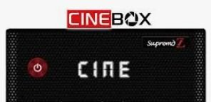 Receptor Cinebox Supremo Z - Full HD - Lançamento