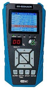 Localizador de Satélite GoSat GS-6934 ACM - Azul e Preto