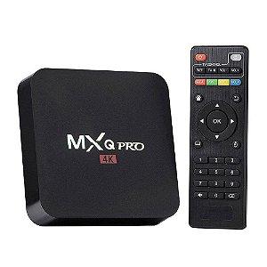 Receptor TV Box MXQ Pro - Android - 16GB - 4K - F.T.A