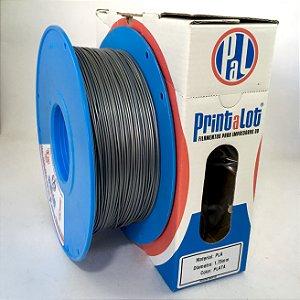 Filamento PLA Metalizado Prata