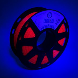 Filamento PLA Fluorescente Fucsia